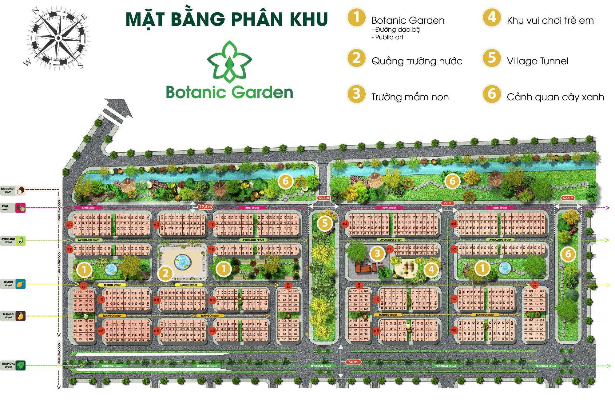 Mặt-bằng-phân-khu-Botanic-Garden-1